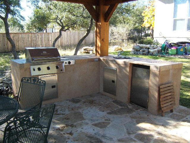 Outdoor Kitchen San Antonio Installation Sanchez Pools Inc