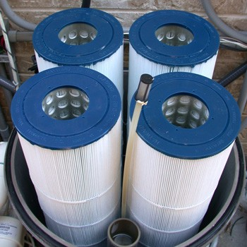 Hayward cartridge pool filters