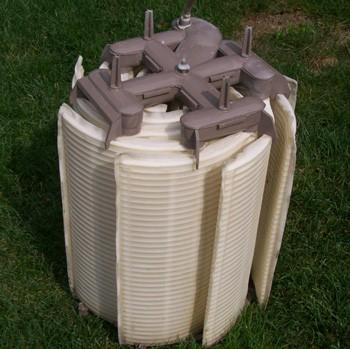 Hayward DE filter on grass