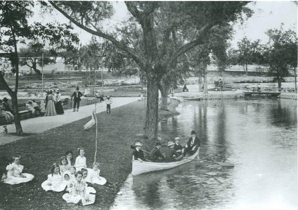 San Pedro Pool Vintage