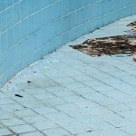 rusty swimming pool