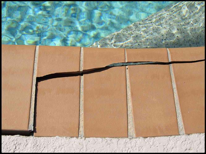 cracked tile san antonio homeowners pool repair